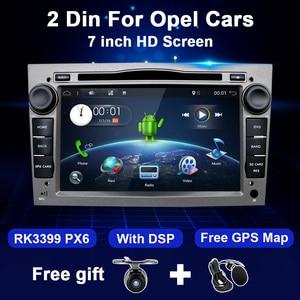 4G+64G Android 2 Din Car Radio DVD For Opel Astra H J 2004 Vectra Vauxhall Antara Zafira Corsa C D Vivaro Meriva Veda Multimedia