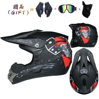 Motor Bike Cross Racing Motorcycle Helmet Safety Enduro Capacete Motorrad Cascos Downhill Bicycle Engine Cafe Racer ATV Helmets 13