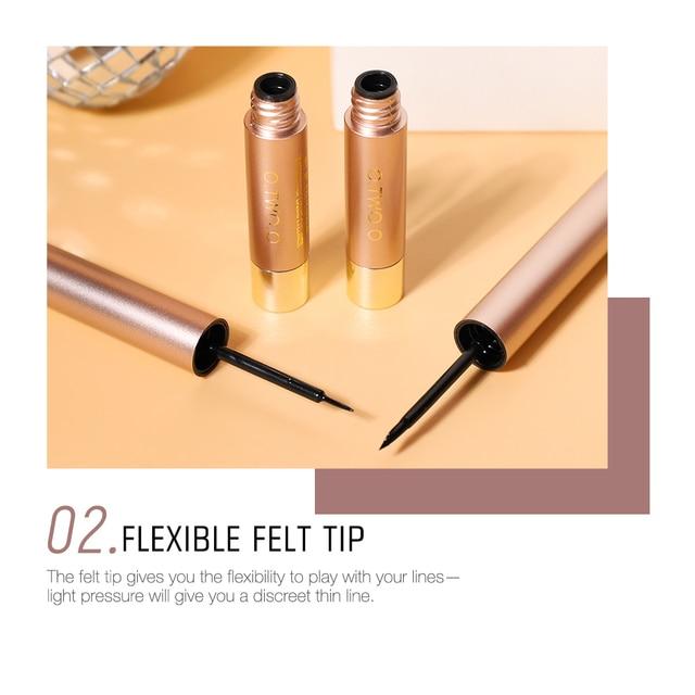 O.TWO.O Professional Liquid Eyeliner Pen Black Beauty Cat Style 24 Hours Long-lasting Waterproof Makeup Cosmetic Tool 4