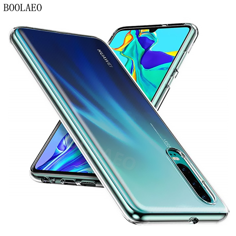 Clear Cover For Huawei P30 P20 P10 Lite Mate 30 20 Pro Honor 8X 9X 20 10 Lite Y6 Y7 Y9 P Smart Z 2019 Nova 5t Soft Silicone Case