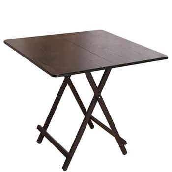 New Folding Table Dining Table Home Simple Small Table Square Dinner Portable Student Dormitory Writing Desk