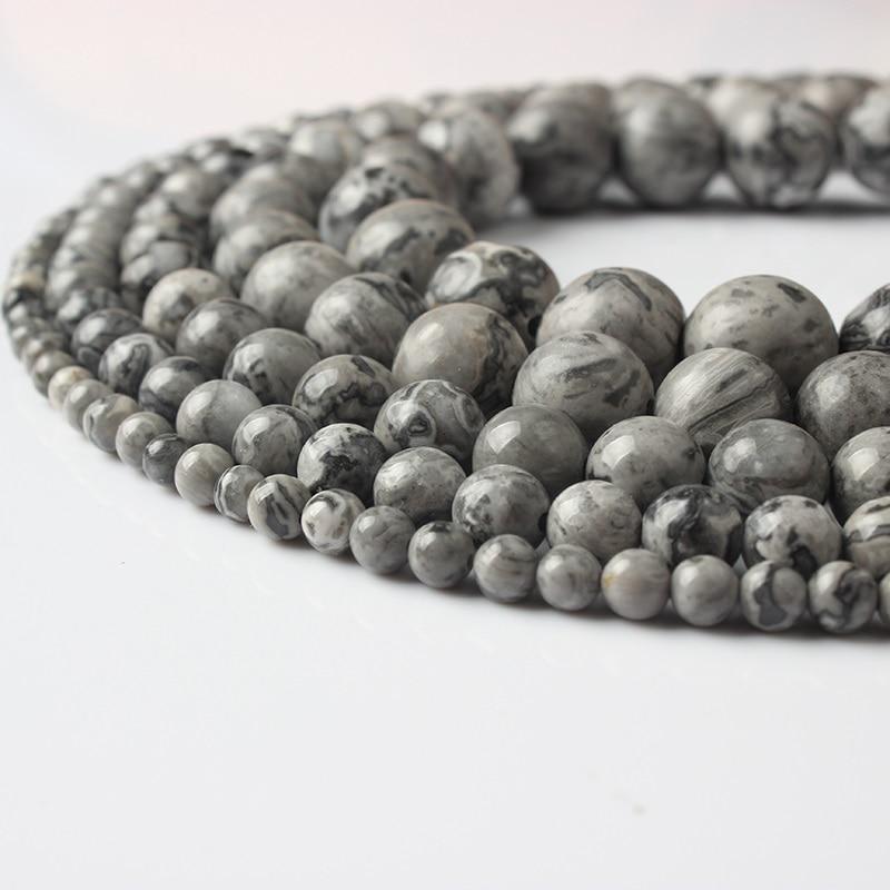 Ланьли Fashiont ювелирные изделия из жемчуга 4/6/8/10/12 мм натуральные камни бусины из серии «сделай сам» обувь для мужчин и женщин браслет для ожерелья для ножного браслета аксессуары - Цвет: di tu shi