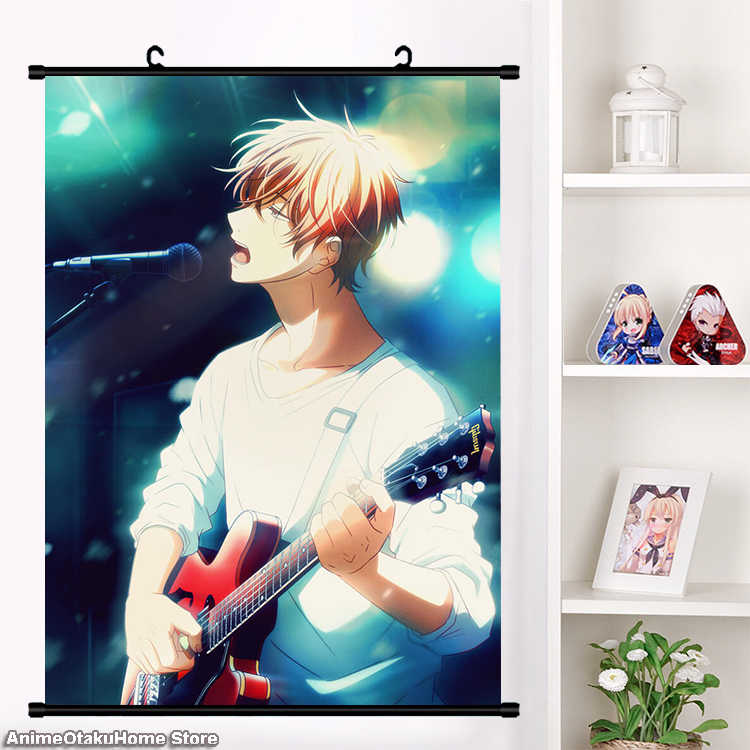 Given Satou Mafuyu Anime Wallscroll Poster Kunstdrucke Bider Druck