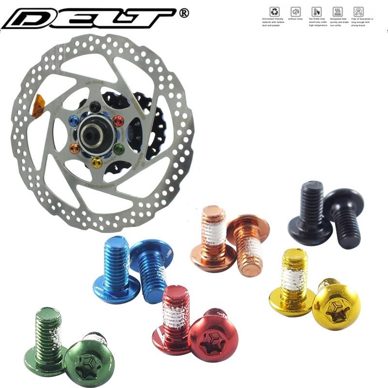 12pcs//Set Cycling Bike MTB Bicycle T25 Torx M5x10mm Disc Brake Rotor Screw Bolts