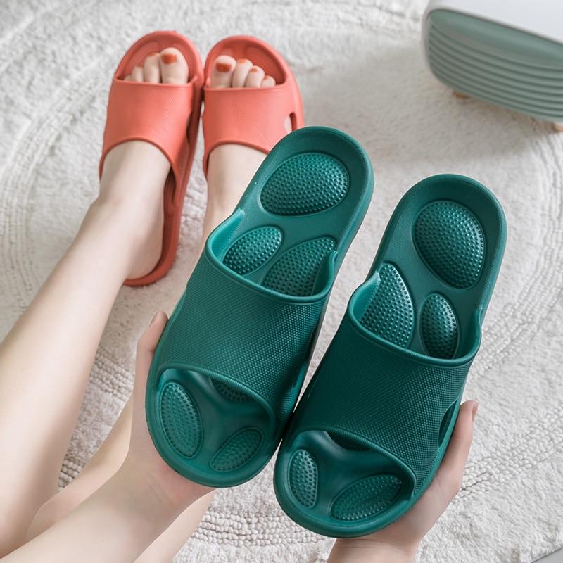Корейский стиль пара тапочек EVA Мягкая подошва без запаха домашний бесшумный тапочки; Нескользящие износостойкие тапочки для Для мужчин; Домашняя обувь|Тапочки|   | АлиЭкспресс