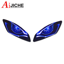 Guard Head-Light-Stickers YZF-R6 Motorcycle YAMAHA for 3D