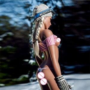 Image 5 - 157cm (5.15ft) סיליקון מציאותי בובת מין חמוד ילדה עם קטן שד וwasp מותניים מין צעצוע למכירה אמיתי מחיר מיוחד