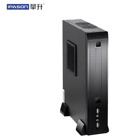 IPASON desktop computer commercial quad-core office home mini PC computer full set of brand machinee A10N 8800E 8G RAM 240G SSD image