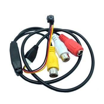 цена на New HD 800TVL  mini Analog  DIY Module CVBS cctv Camera for Home Security Surveillance video camera free shipping