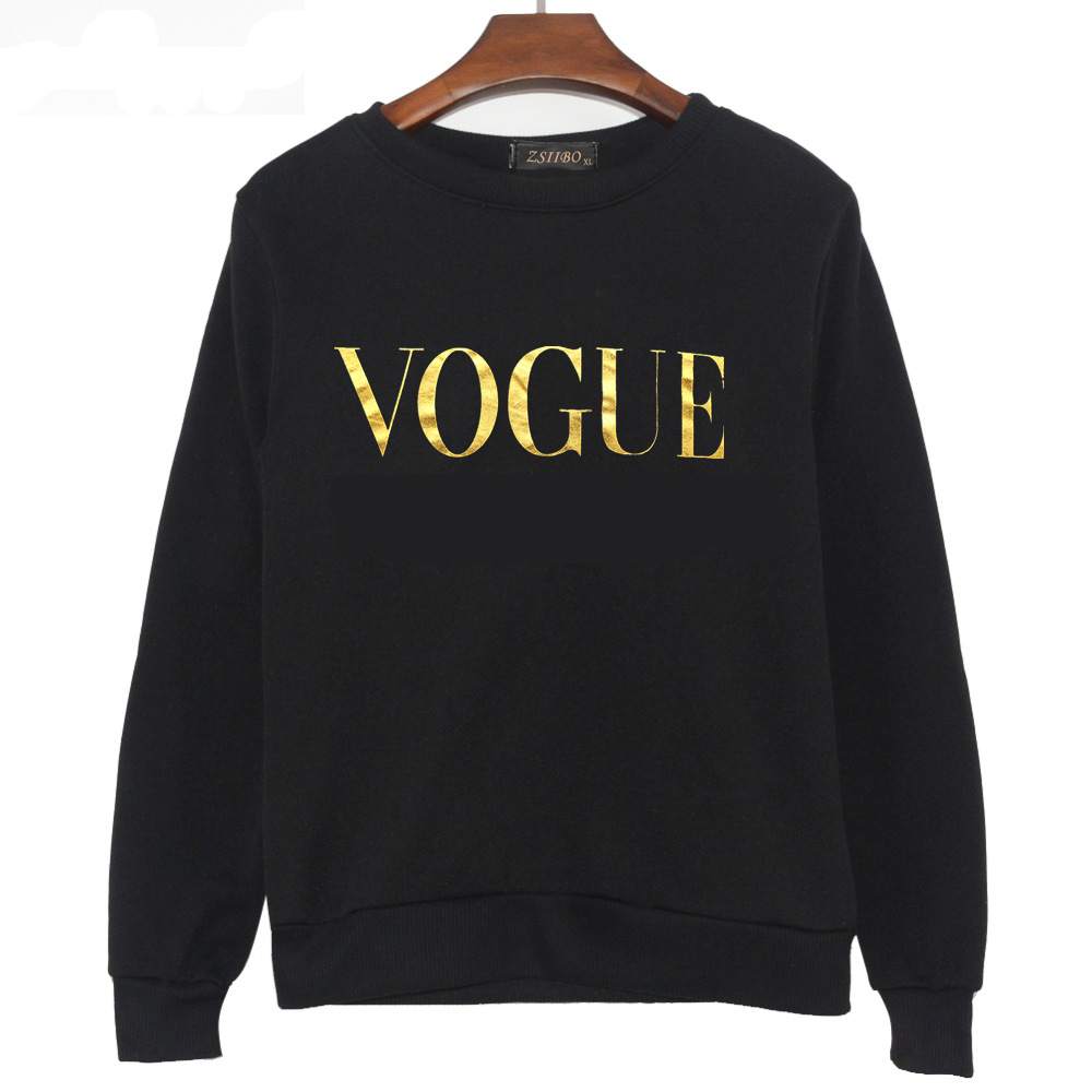 Women Sweaters 2019 Winter Autumn New Fashion VOGUE Printletters female O Neck Pullover Casual top Plus Size ladies trui Clothes 29