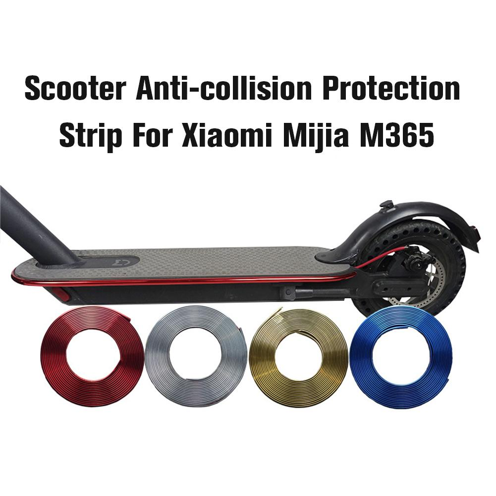 Electric Scooter Bumper Strip Protective Anti-collision Strip For Xiaomi M365 & M365 Pro Electric Scooter Skateboard Accessories