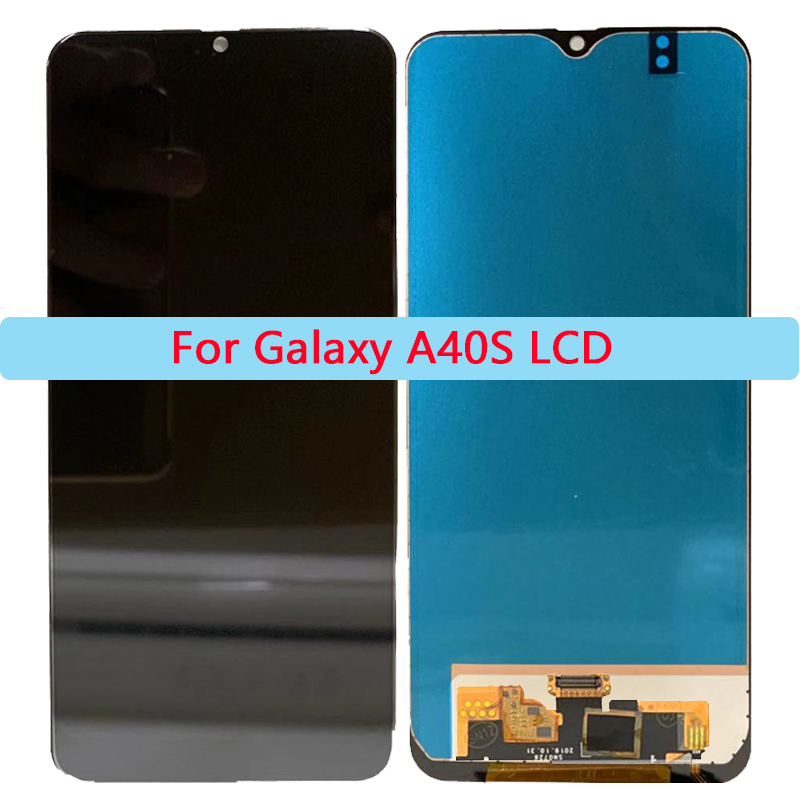 AAA Quality <font><b>LCD</b></font> For <font><b>Samsung</b></font> Galaxy <font><b>A40S</b></font> <font><b>LCD</b></font> Display Touch Screen Digitizer Assembly For Galaxy <font><b>A40S</b></font> <font><b>LCD</b></font> Repair parts image