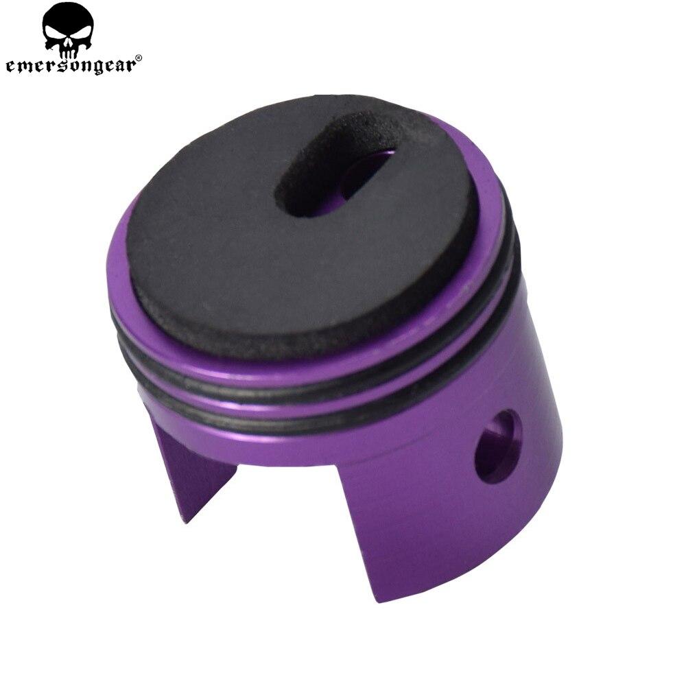 Emersongear BD Ultra Zylinder Kopf Mit EINEM Pad Auf der Unterseite Doppel O Barrel Kopf-7 für Ver. 7 getriebe M14 AEG Paintball Airsoft PCP