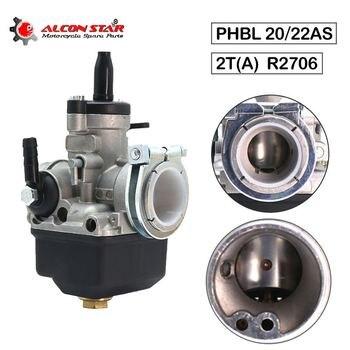 Carburador de carreras Universal Alconstar PHBL 20AS PHBL 22AS R2706/R2707 20mm/22mm 2 tiempos 50-250cc, carburador Dellorto ktm