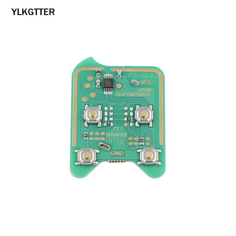 Ylkgtter 3 Knop Afstandsbediening Autosleutel 315 Mhz Fob Voor Ford Edge Escape Focus Lincoln Mazda Mercury OUCD6000022 Met ID63 chip 80 Bit