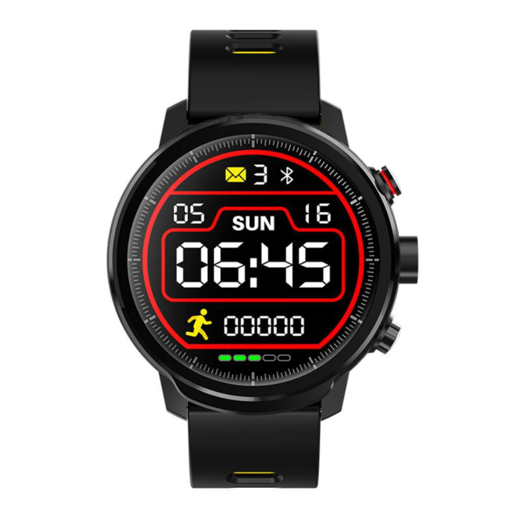 Microwear L5 Smart Watch Men IP68 Waterproof Standby 100 Days Multiple Sports Heart Rate Monitoring Weather Forecast Smart Watch image