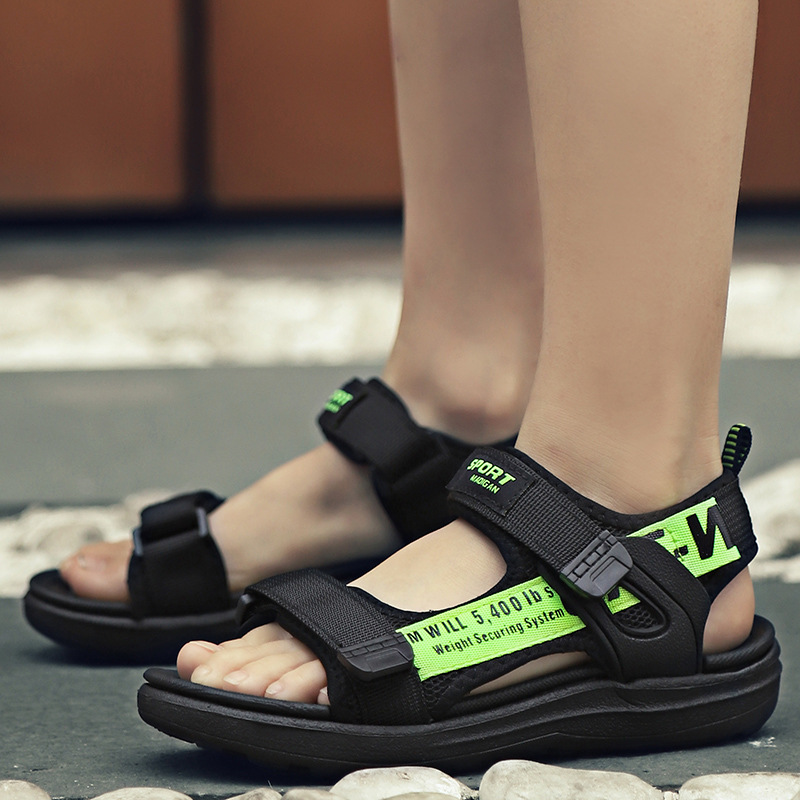 Summer Kids Sports Shoes Sandals Children Casual Boys Outdoor Sneaker Fashion Spring Graffiti Girls Student Shoes Anti-Slippery
