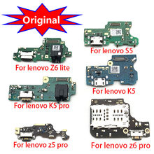 USB Charging Port Board For Lenovo Z6 Lite K5 Z5 Z6 Pro K8 Note K8 Plus Charger Dock Connector Plug With Microphone Flex Cable(China)