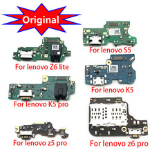 USB Charging Port Dock Connector Board Flex Cable With Mic Replacement Parts For Lenovo Z6 Lite K5 Z5 Z6 Pro K8 Note K8 Plus