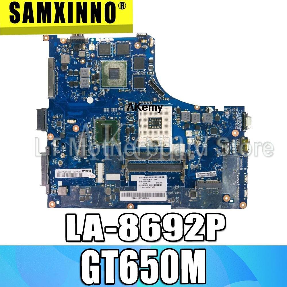 QIQY6 LA 8692P Laptop motherboard for Lenovo IdeaPad Y500 original mainboard GT650M|Motherboards| |  - title=