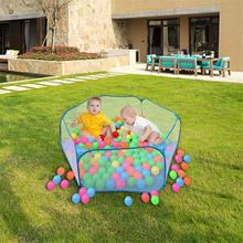 Children's tent, blue sky, ocean ball pool, children's wave ball tent, baby intelligence toys, 1-2-3 years old