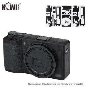 Image 1 - キウイアンチスクラッチカメラボディ皮膚保護フィルムキットリコー GR III GRIII GR3 GR マーク III カメラ 3 メートルステッカー黒