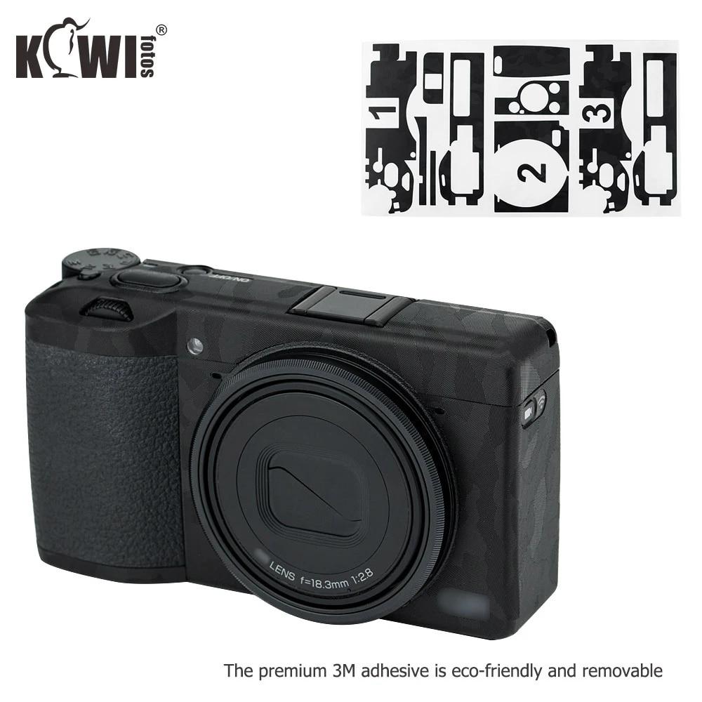 KIWI Cuerpo De Cámara piel cubierta de película Pegatina Decorar 3M Fr Sony a7, a7S II II a7R II