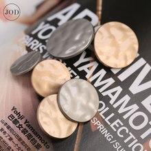 25 мм Серебристые золотистые металлические пуговицы для одежды ремесла пальто одежды Ретро Cc Брендовые женские Пуговицы декоративные на одежде джинсовая куртка