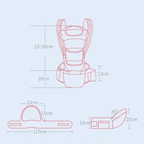 hipseat transportadora frente enfrentando ergonomico canguru envoltorio