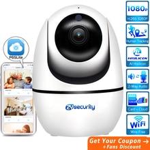 AI Human Tracking Wifi Camera 1080P Wireless Home Security 2-Way Audio SD Card Cloud Network Video CCTV Surveillance Camera IP
