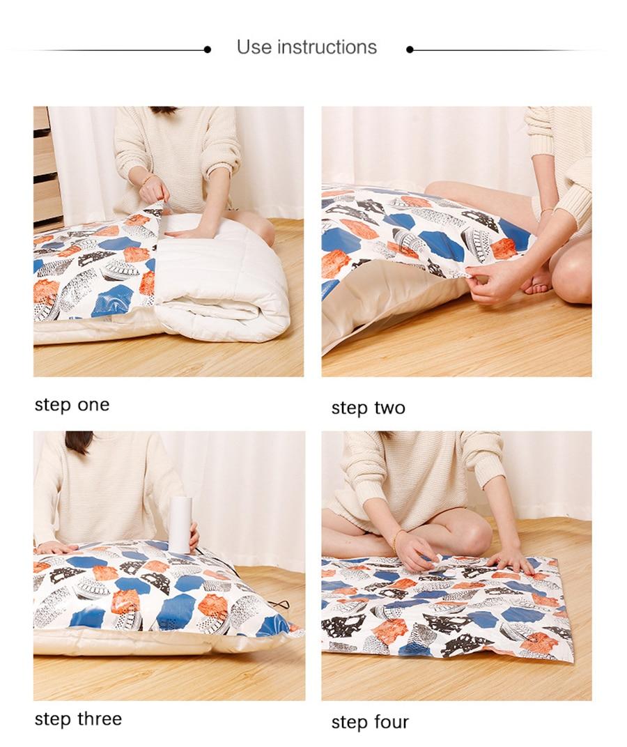 Вакуумная сумка для хранения подушки одежда сумки для хранения стеганых одеял греческий художественный стиль дизайн Экстра толстый дом для экономии места в путешествии посылка
