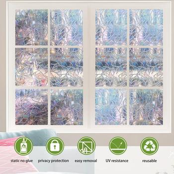45x100cm 3D prywatność folie okienne kwiat matowe dekoracyjne folie samoprzylepne szklana naklejka nieprzezroczysta barwiona strona główna dekoracyjna tanie i dobre opinie Window Film Other Szkło filmy 1 pc Support Wholesale Support Retail Dropshipping