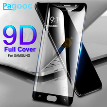 9D закаленное Стекло на для Samsung Galaxy J3 J5 J7 A3 A5 A7 A510 J2 с полным покрытием защитная маска для лица, Стекло пленка