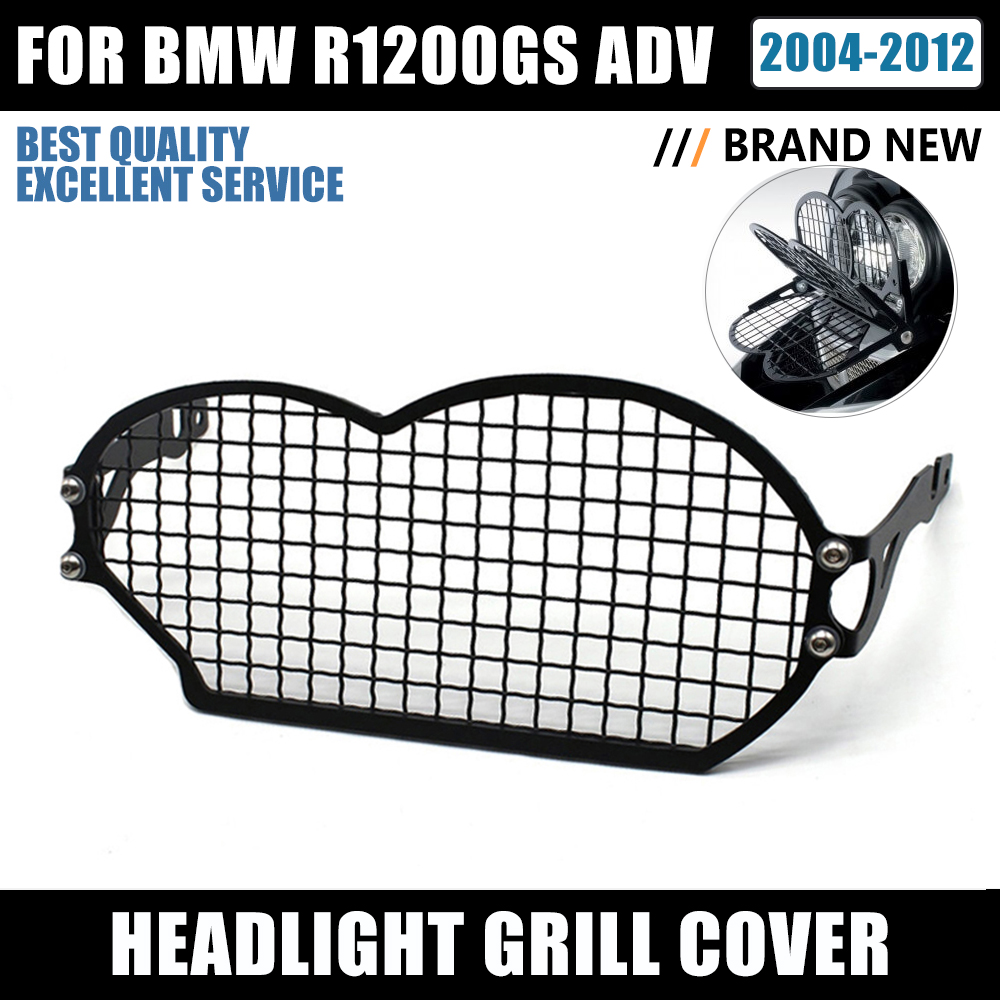 Stainless steel Headlight Protector Guard For BMW R1200GS R 1200 GS R1200 GS 2004-2012 Motorcycle Headlight Grill Cover new york city