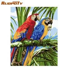 Ruopoty рамка с птицами diy Раскрашивание по номерам домашний