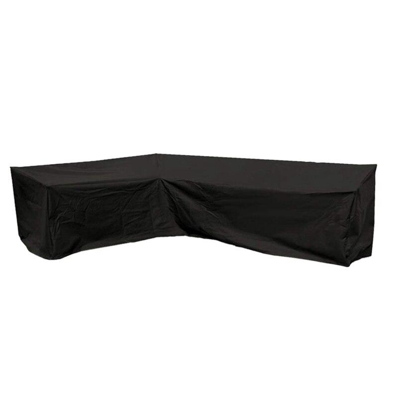 l forma capa patio sofa mobiliario sofa capa com impermeavel e dustproof para mover ou protetor