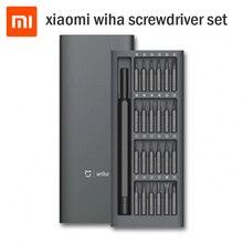 Tournevis Original Xiaomi Mijia Wiha 24 en 1 Kit de précision 60HRC embouts magnétiques Xiomi Kit de réparation à domicile outils pour maison intelligente