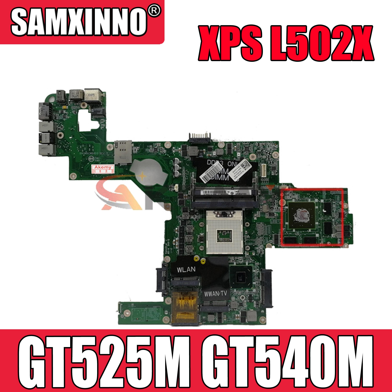 Оригинальная материнская плата для ноутбука DELL XPS L502X HM67 GT525M GT540M материнская плата CN-0C47NF 0C47NF DAGM6CMB8D0 N12P-GE-A1