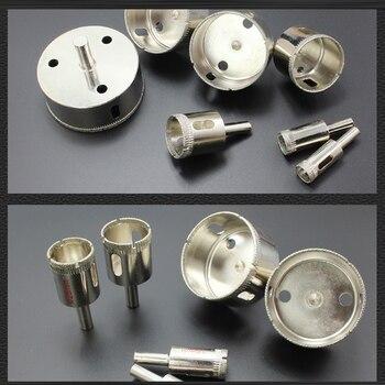 Алмазные сверла для стеклянной плитки, полый экстрактор, инструменты для удаления отверстий, пилы для стеклокерамики, фарфора, гранита, 5-200 ...