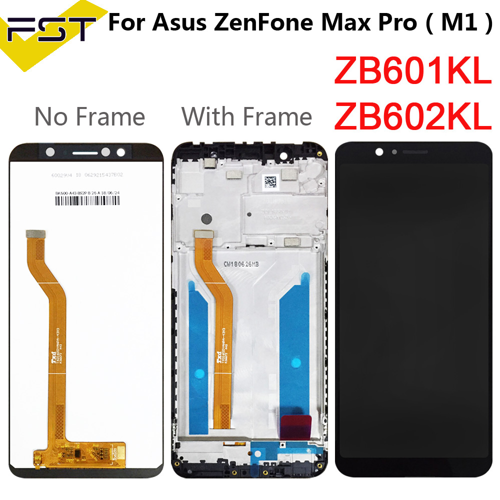 5.99'' For Asus ZenFone Max Pro ( M1 ) ZB601KL ZB602KL LCD Display+Touch Screen Digitizer Assembly+Frame Spare Parts+Tools