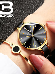 BINGER Bracelet Watches Women Crystal Fashion Ladies Relogio Brand Luxury B-11852 Feminino
