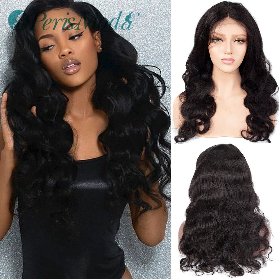 Synthetic Wigs for Black Women Long Body Wave Middle Part Cosplay Fiber Wigs PerisModa Heat Resistant Cheap Lace Synthetic Wigs