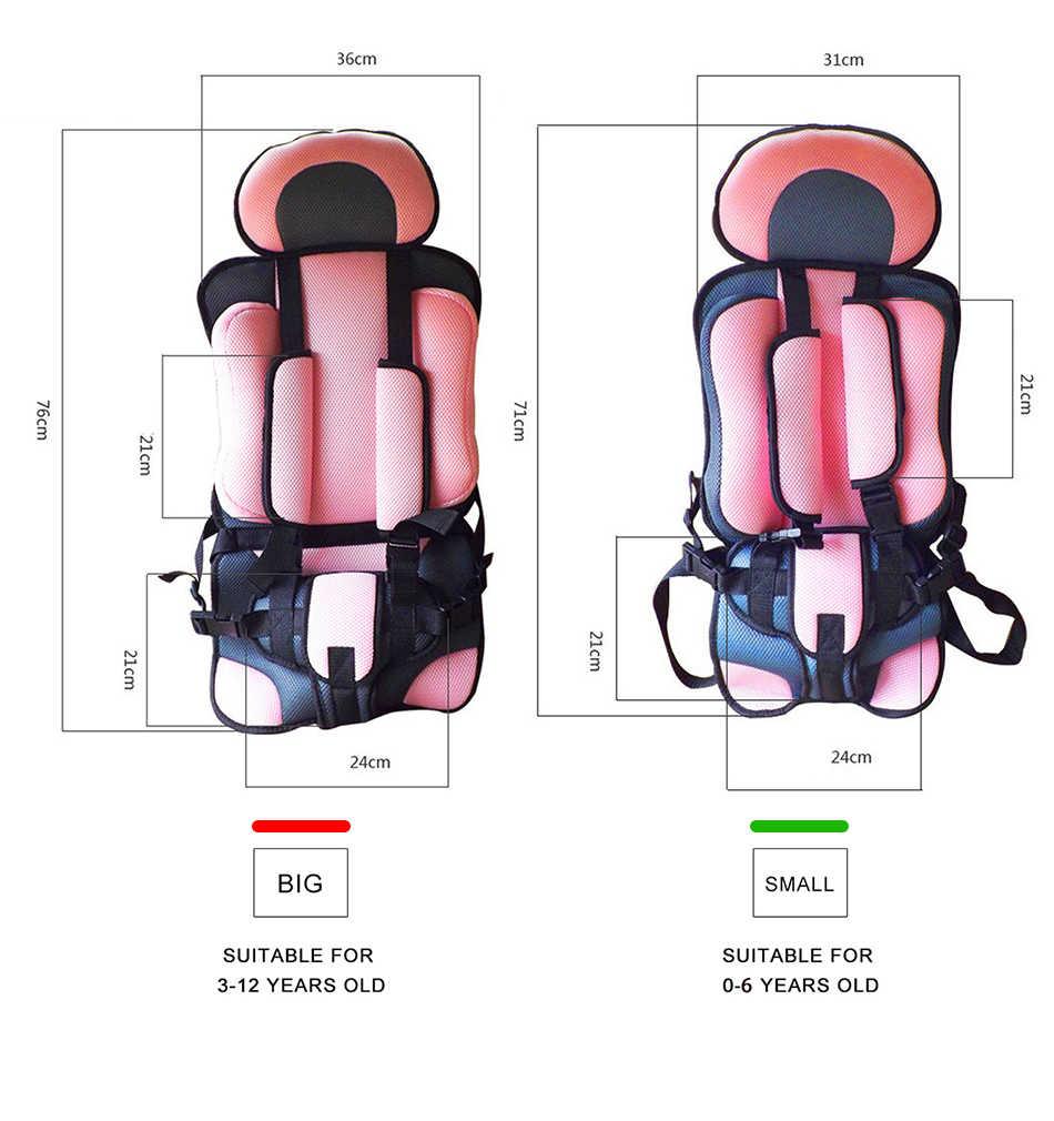 8 色ベビー子供のシート 6 ヶ月に 12 歳ポータブル厚みソフト通気性椅子マットoddler保護マット
