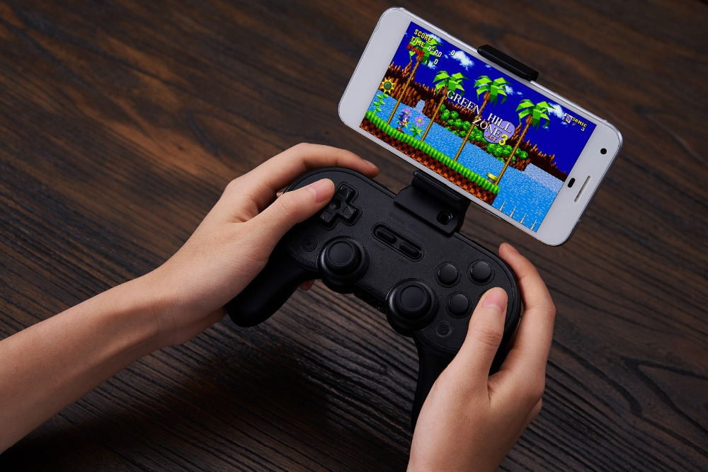 8BitDo Smartphone Clip for SN30 Pro+ Bluetooth Gamepad 15