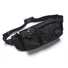 Porter Fashion Waist Bags Nylon Waist Pouch Men