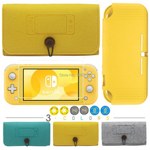 NEW for Nintend Switch Lite Mini Console Felt Soft Carry Pouch Bag Cover Case Shockproof with 4 Game Cards Slots Storage