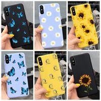 Para Xiaomi Redmi Nota 9 7 8 Pro 6 5 Plus 5A 6A caso flor blanda TPU de dibujos animados lindo cubierta en Redmi Note8 8A Nota 6 7A 9A 9 Pro caso