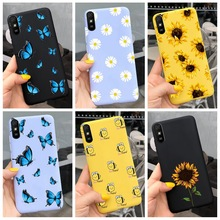 For Xiaomi Redmi Note 9 7 8 Pro 6 5 Plus 5A 6A Case Soft TPU Flower Cartoon Cute Cover