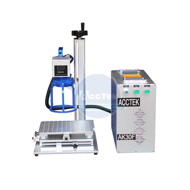 High Precision Handheld Fiber Laser Marking Machine 30w For Small Business Idea