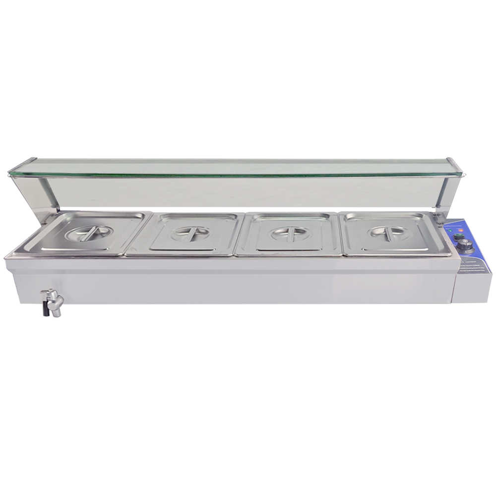 Commercial Industrial Food Warmer Equipment Food Buffet Countertop Catering Tools Bain Marie Warming Machine Aliexpress